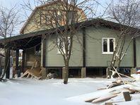 Пристройка к старому дому