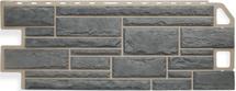 Сайдинг Альта Профиль камень серый